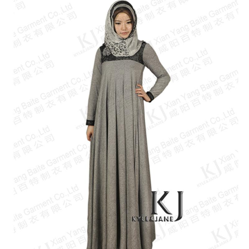 Как сшить мусульманское платье в пол 42