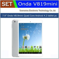 Onda V819 Mini 7.9 inch Quad Core AllWinner A31S Android 4.2 1GB 16GB WIFI HDMI Dual Camera tablet pc