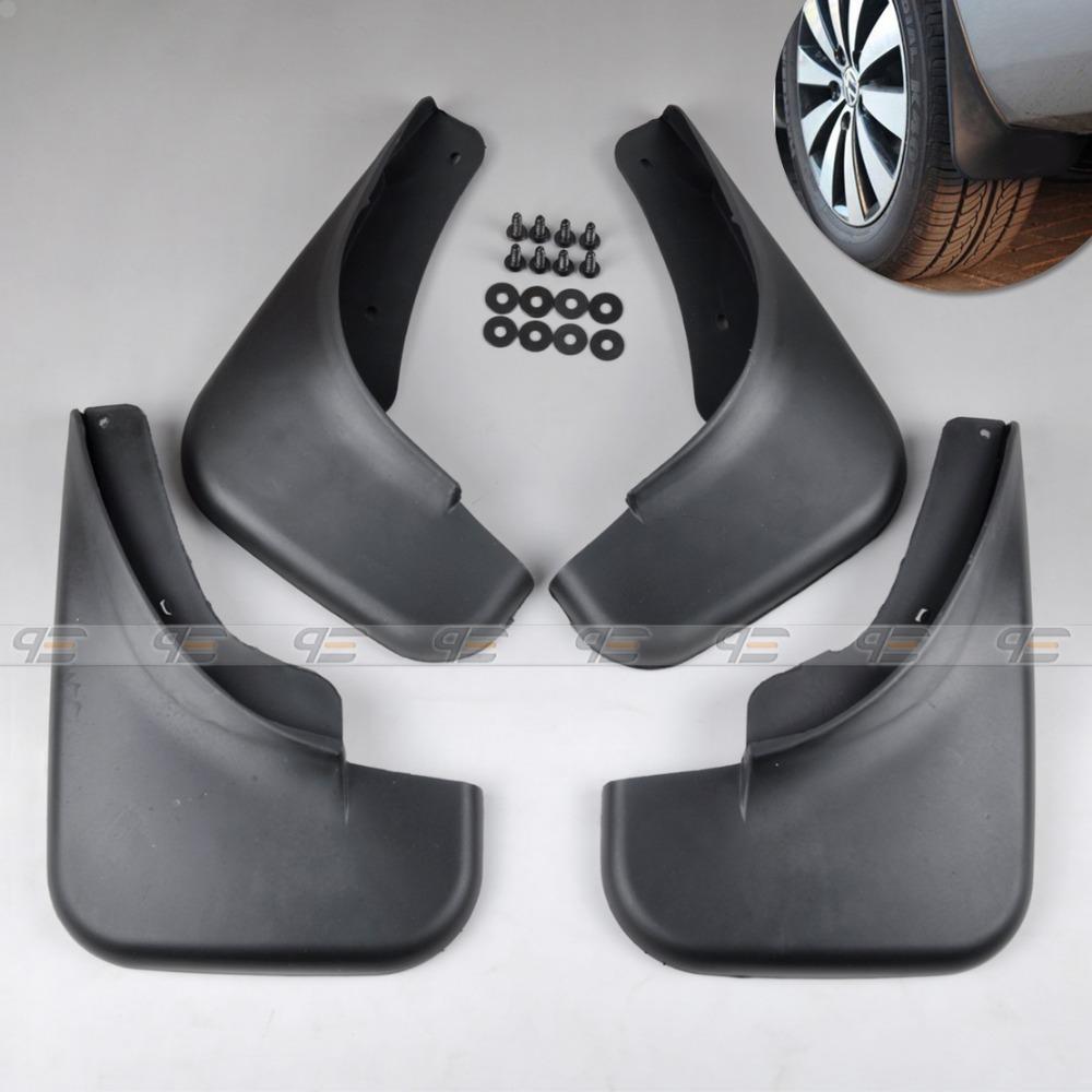 Mud Flaps Splash Guard 4pcs Kit For 1999 2000 2001 2002 2003 2004 VW JETTA BORA Golf Mudguard-CA01722(China (Mainland))