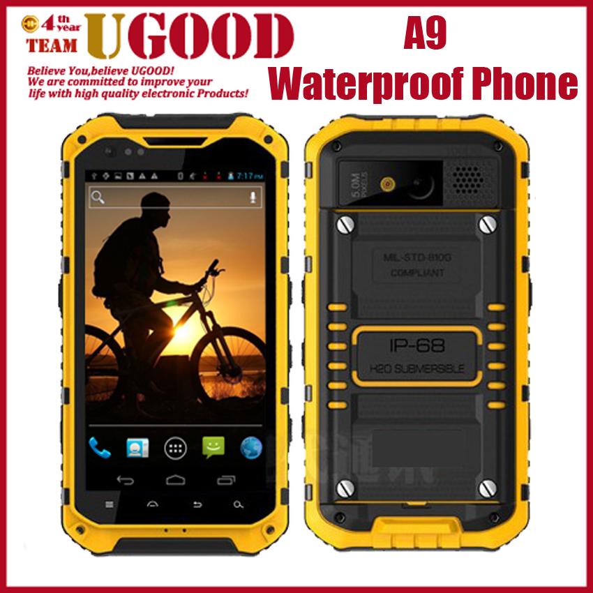 Оригинальный a9 ip67 водонепроницаемый мобильный телефон