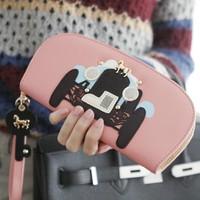 Kqueenstar 2014 car key women's long design wallet