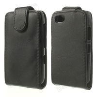 free shipping 10pc/tvc-mall Leather Skin Vertical Flip Case Cover for BlackBerry 9720 Samoa