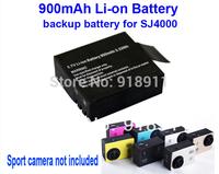 Free Shipping!!100% Original 900mAh Backup Rechargable Li-on Battery For SJ4000 Sport Camera DV Extra battery for SJ4000