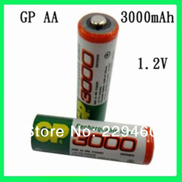 12pcs/Lot Hot sale original battery 1.2V NiMh aa 3000 mAh battery rechargeable / AA mah(China (Mainland))