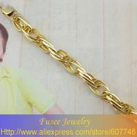 ISZ01098 18K gold plated Filled  pendant Bracelet 2pcs/lot