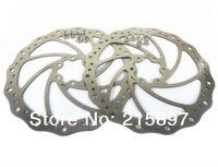 2pcs Bike Disc rotors bicycle brakes disc brake rotor 180mm + 12 pcs Ti Tianium Bolts Free Shipping