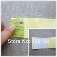 Custom reverse stickers printing