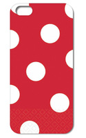 2014 New coming!! 1pcs Lovely Polka Dots hard back white case cover for iphone  5 5g 5th  +free shipping