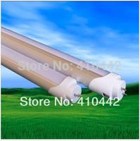 LED Tube T8 1200mm 25W Light Lamp Pure White 2500lm 3014SMD  240LED 85-265V Aluminum+PC Cover Free Shipping+100pcs/lot