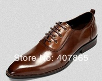 free shipping new Leisure men's leather shoes Authentic leather with leather shoes