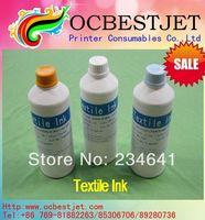 Excellent Textile Ink 500ml*8bottles For Epson R2000 1800 1900 Textile Ink
