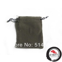 Free Shipping 100pcs/Lot 5.8x7cm Soft Gray Color Jewelry Velvet Gift Packaging Bags & Pouches