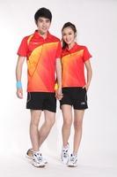 2014 Sudirman Cup Badminton Shirt Men LI Ning Shirts / Badminton  Pingpong Clothes Jersey