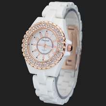 Fashion Brand Shining Rhinestone Ladies Women's Girls Crystal Diamond Jewelry Analog Quartz Wrist Watches, Free Shipping