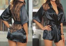 black sleepwear promotion