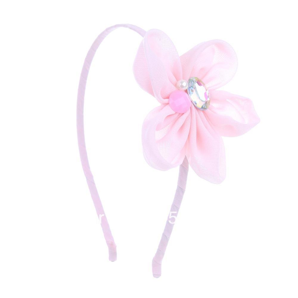 Kids Jewelled Flower Headband(China (Mainland))