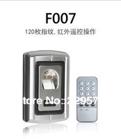 Free shipping, F007 metal shell fingerprint access control, +1 remote machine