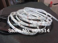 [Seven Neon]Free DHL shipping  5050 60leds/M led smd strip with power adaptor for Nicolae