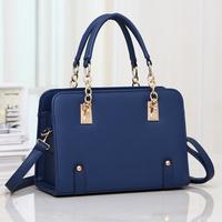 Fashion women's handbag 2014 shaping bag sweet bag chain one shoulder cross-body leather bags new designer