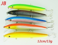 Free shipping A+ top quality hard fishing lures 5pcs/lot .12cm/13g per pcs
