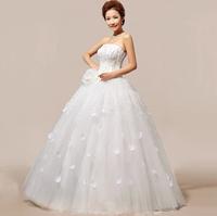 2013 new wedding dress Bra gorgeous star hotel Qi Korean sweet wedding dress HS118