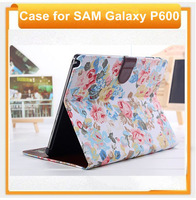 Tablet case for samsung Galaxy Note 10.1 2014 Edition P600 top quality flip tablet cover for samsung P600 with free shpping