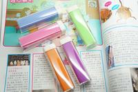 free shipping 1pcs 2600MAH mini USB Power Bank lipstick portable external battery charger for mobile phone,MP3+V8 cable