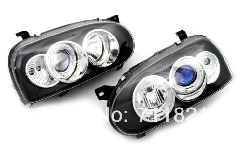 LED Projector Head Light For VW Golf MK3(China (Mainland))
