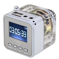 TT-029 Mini Speaker Digital Micro SD/TF Music MP3/4 Player USB FM Radio