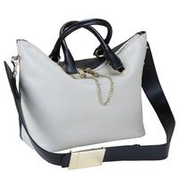 Star 2014 baylee two-color bag color block decoration metal buckle shoulder strap handbag messenger bag