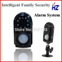 GSM Security Alarm System with Camera PIR Motion Detection MMS Function Night Vision Burglar alarm