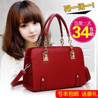 Fashion women's handbag 2014 fashion big bag chain bag handbag messenger bag