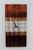 Metal Abstract Modern Painting Wall Art Clock Sculpture Nocturnal By Jon Allen