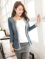 1 2013 women's autumn outerwear denim women's top denim outerwear female