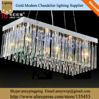 AISC  Wholesaler Hot Selling Cheap Modern K9 Rectangle Crystal Ceiling Lamp Free Shipment