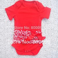 Wholesale Red Baby Bodysuit Kids Children Clothing Body New Born KP-CTR002