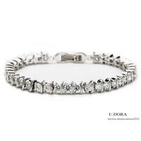 Fashion Women Cubic Zirconia Bracelets + Bangles + 26%