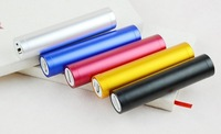 10pcs external Battery 2600mAh Emergency Power Bank Charger Portable for Phone Colorful Various -free shipping