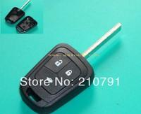 Free Shipping Chevrolet key shell remote key blanks for Aveo 3 buttons for chrysler key for chevrolet key