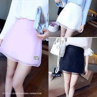 Women's 2014 spring short skirt female beautiful yarn a summer female bust skirt short skirt