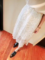 Women's 2014 self-restraint spring and summer ! lace bust skirt lace skirt female