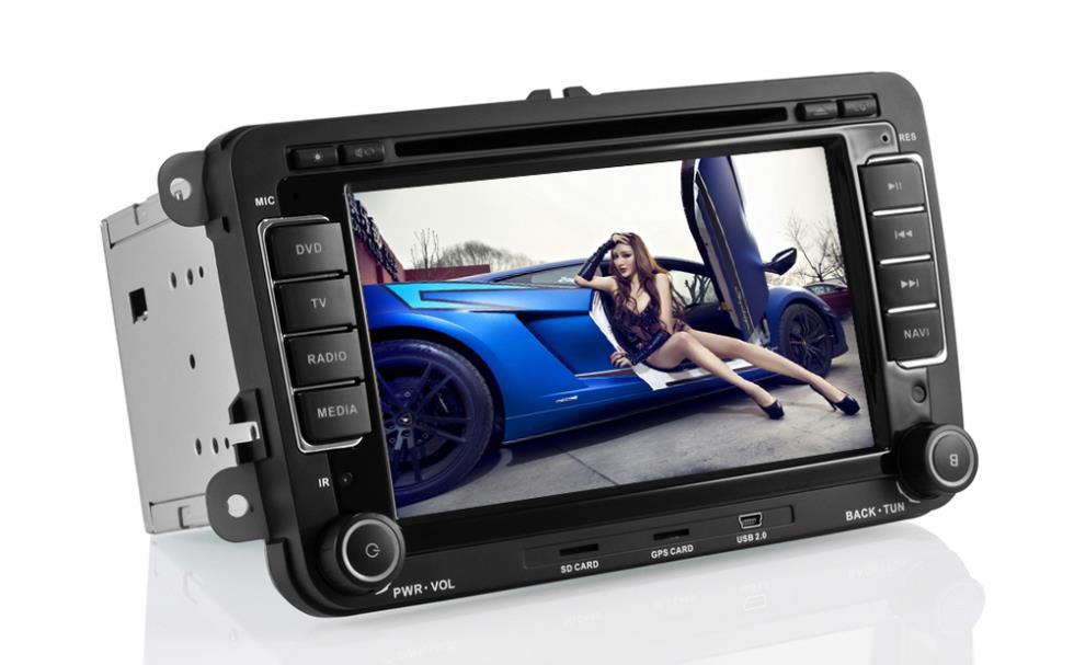 Volkswagen Passat/Polo/Golf/Amark/Jetta/Seat/Skoda Double DIN Car Radio+WIFI Function+GPS+DVD+Bluetooth+IPOD+AUX+FM/AM+1080P(China (Mainland))