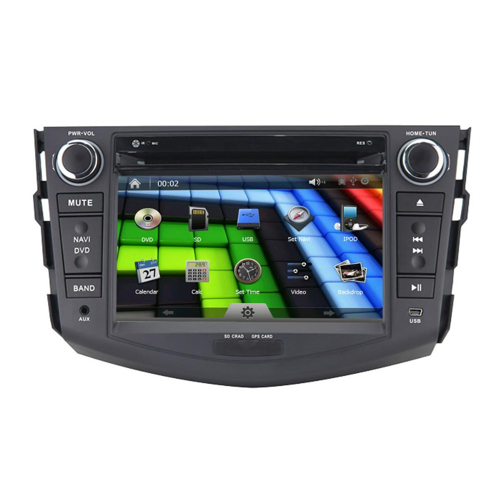 Toyota RAV4 2 DIN Radio+GPS+Digital TV ISDB-T+IPOD+Steering Wheel Control+Bluetooth+USB/SD+AUX+1080P HD Video Playing(China (Mainland))