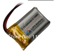 502030 300mAh 3.7V lithium polymer battery  for MP3 Read Pen Remote Control with Protection board