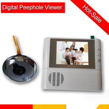 2.8 intelligent electronic doorbell cat-eye Visual tape of security door cat-eye door mirror household(China (Mainland))