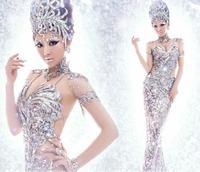 Free Shipping 2014 New Arrival Bridal Wedding Dress,Wedding Gown W0025