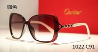 fashion sun glasses women brand designer 2014,UV400CE 100%UV protection,Metal Skull Sunglasses