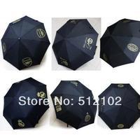 Three-Folding Sun Umbrellas Parasols Fans Supplies Souvenirs Gifts