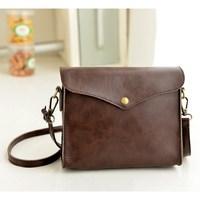 New Arrival 2014 Vintage Small Leather Shoulder Bag Casual All-match Women's Messenger Bag  Handbag Envelope Bag Day Clutches