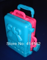 doll accessories, toy suitcase, new style suitcase, doll suitcase, 50pcs/lot